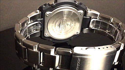 カシオGショックGスチール casio G-SHOCK G-STEEL GST-W310D-1AJF