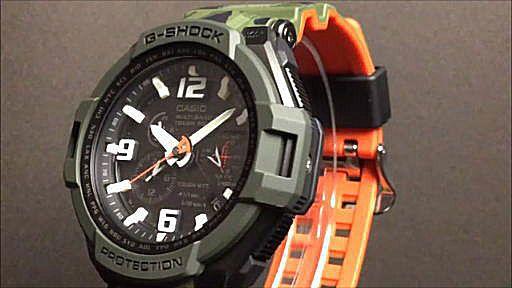 カシオGショック グラビティマスター casio G-SHOCK GW-4000SC-3AJF