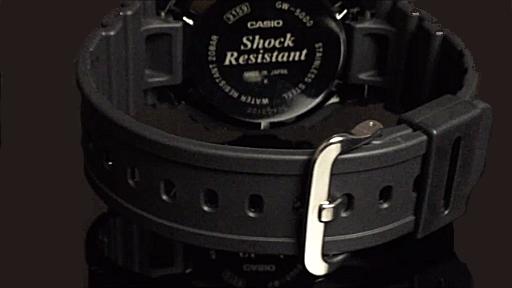 カシオGショック ソーラー電波腕時計 CASIO G-SHOCK GW-5000-1JF