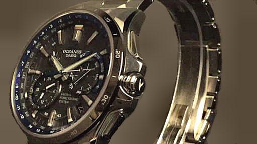 カシオ オシアナス casio OCEANUS OCW-G1000-1AJF
