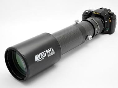 90FLカーボン仕様一例:90FL対物レンズ+[7120]+[7700]+[7835]+[7000]+[5002]+ペンタックスK10Dボディー