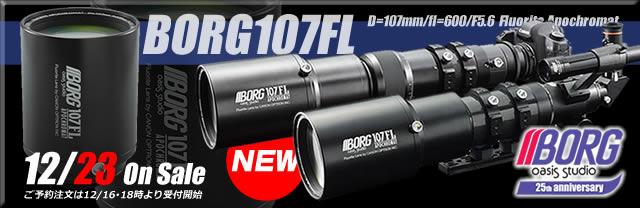 新製品BORG107FLシリーズへのリンクバナー