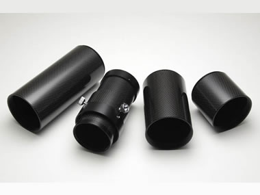 カーボン鏡筒3種+カーボンドロチューブユニットの4点セット