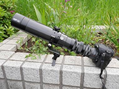BORG71FLカーボン鏡筒使用例