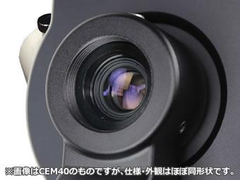 内蔵の高精度極軸望遠鏡(暗視野照明付き)の画像