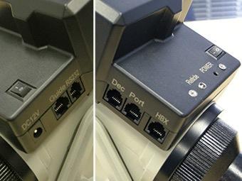 標準装備の各端子の画像