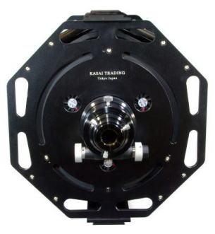 GS-250RC/TRの画像。直径30mmの堅牢・肉厚なカーボンハイブリッドチューブによるトラス構造を採用しています。