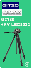 ジッツオ G2180とSlik 823Pro