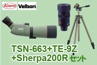 TSN-663+TE-9Z+Sherpa200Rセット