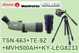 TSN-663+TE-9Z+MVH500AH+823Proセット