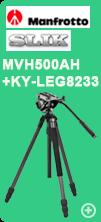 Manrotto MVH500AHとSlik 823Pro