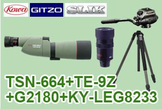 TSN-664+TE-9Z+G2180+823PROセット