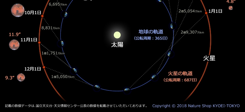 公転軌道図2