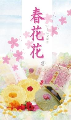 京都のお土産で人気 春花花 春の和菓子詰め合わせ