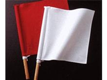 紫黒檀(鉄木)製審判旗セット