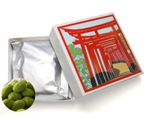 抹茶黒豆しぼり