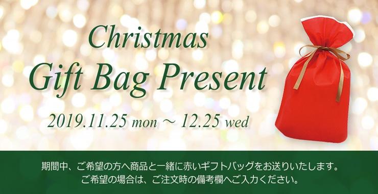 クリスマスギフトバッグ