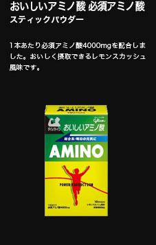 おいしいアミノ酸 スティックパウダー(レモンスカッシュ風味)