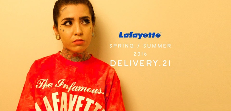Lafayette 2016 S/S collection 21th DELI