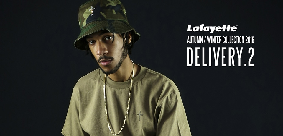 Lafayette 2016 A/W collection 2nd DELI