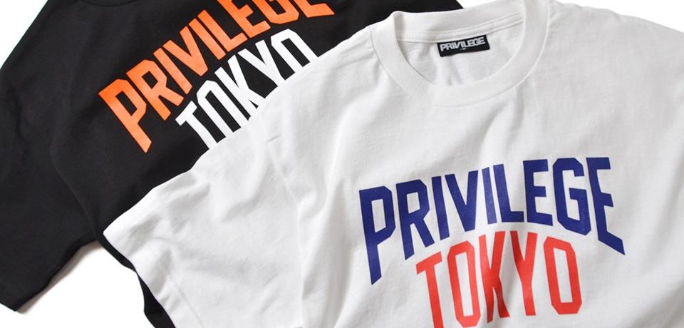 PRIVILEGE TOKYO COLLEGE TEE
