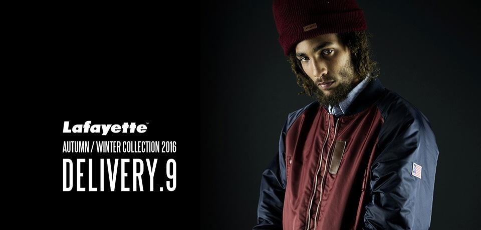 Lafayette 2016 A/W collection 9th DELI