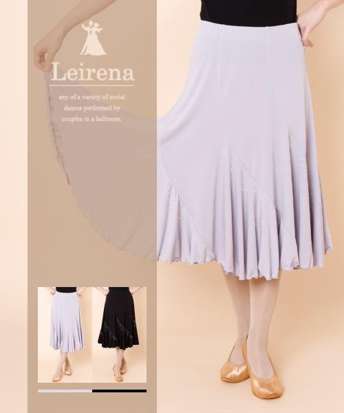 ◆SALE◆エスカルゴミディアムスカート【社交ダンス 衣装 スカート ミディアム】