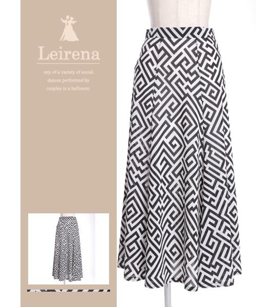 ■SALE■チャイニーズパターンモチーフスカート