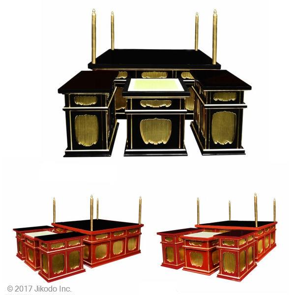 二重椅子型大壇