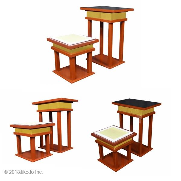 慈光型の背高経机用椅子
