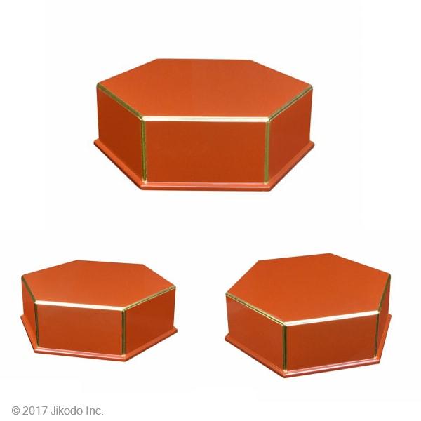 正六角形仏像台