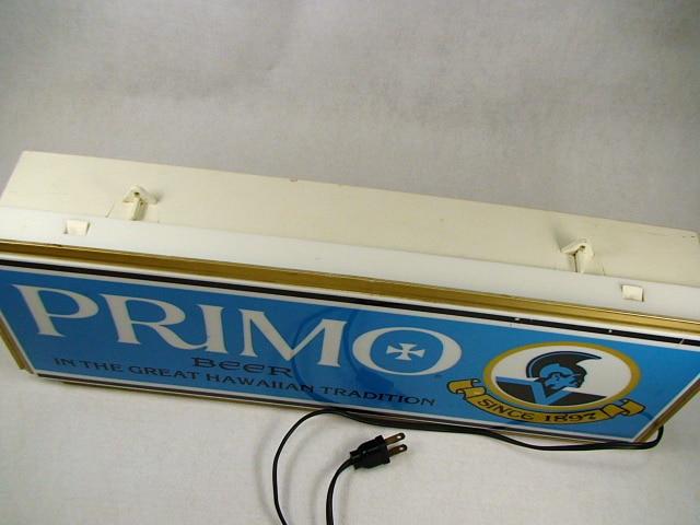ビンテージ PRIMO  Beer Light 70' プリモ ビール ライト