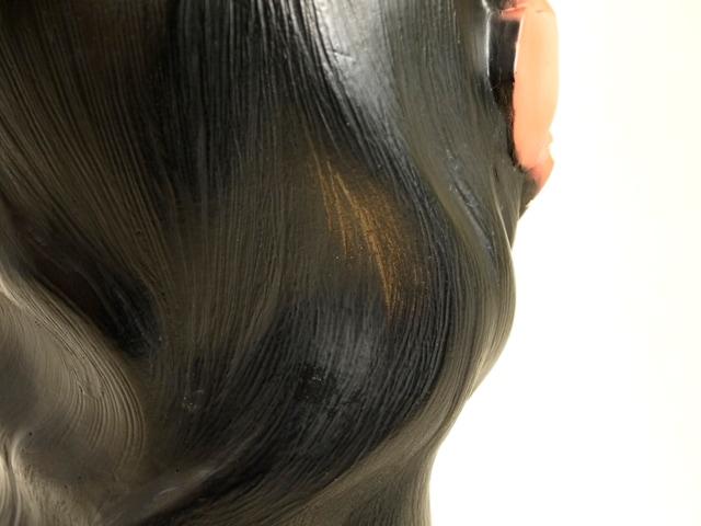 【送料無料】MARWAL HAWAII HULA GIRL CHALKWARE HEAD BUST