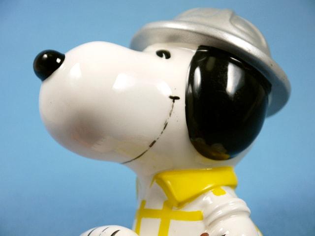 ビンテージ Determined 70' スヌーピー Hat シリーズ  Bank ヘルメット