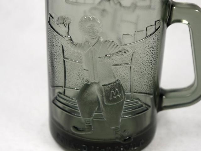 ビンテージ Mcdonald's 70'マクドナルド ロナルド ガラス マグ
