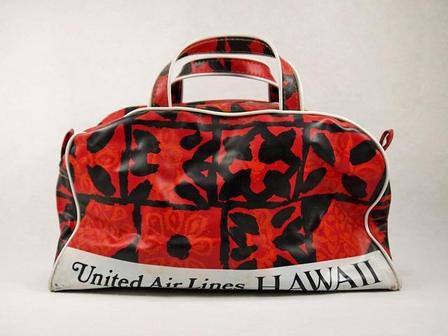 ビンテージ 70'United Airlines HWAII  ボストンバック