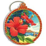 ハワイアンクリスマス red hibiscus