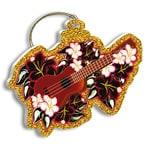 ハワイアンクリスマスオーナメント holiday ukulele