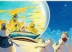 ハワイアンクリスマスカード Holiday Dreamin