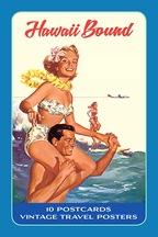 ハワイアンアートポストカード(10枚入り)/Hawaii Bound
