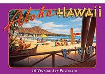 ハワイアンアートポストカード(10枚入り)