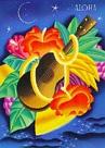 ハワイアン マハロカード