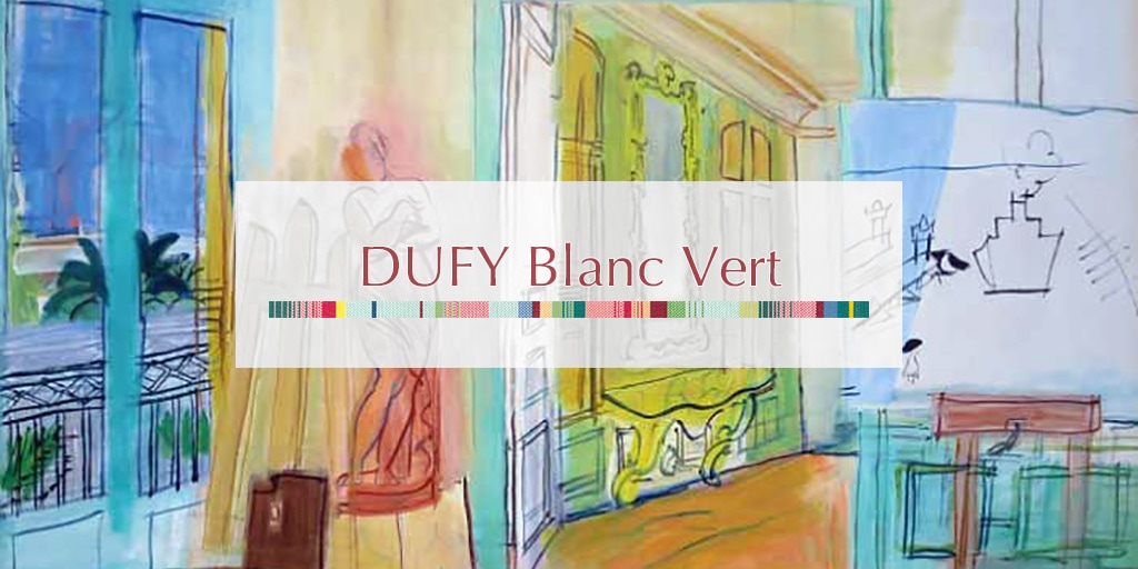 2018AW デュフィ ブラン ヴェール/DUFY Blanc Vert
