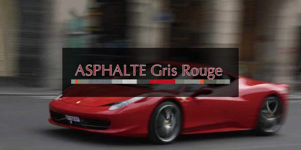 2019Printemps アスファルト グリ ルージュ/ASPHALTE Gris Rouge