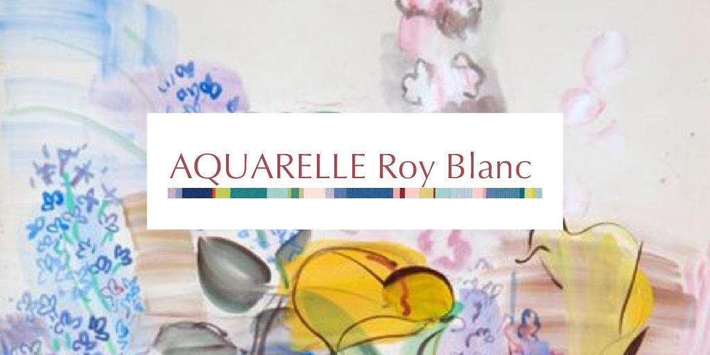 2019Printemps アクアエル ロワ ブラン/AQUARELLE Roy Blanc