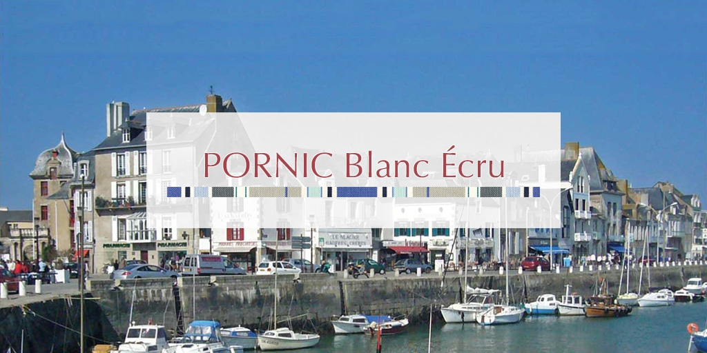 2019 ETE ポルニック ブラン エクリュ/PORNIC Blanc Ecru