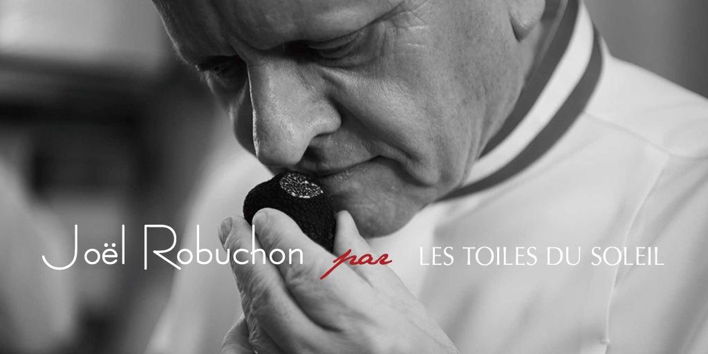 Joel Robuchon par LES TOILES DU SOLEIL