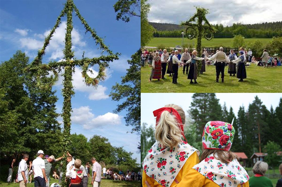 北欧スェーデンの夏至祭