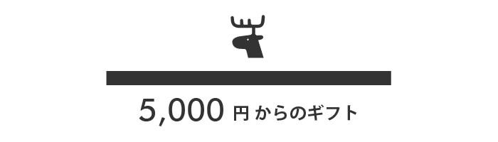 5,000円からのギフト