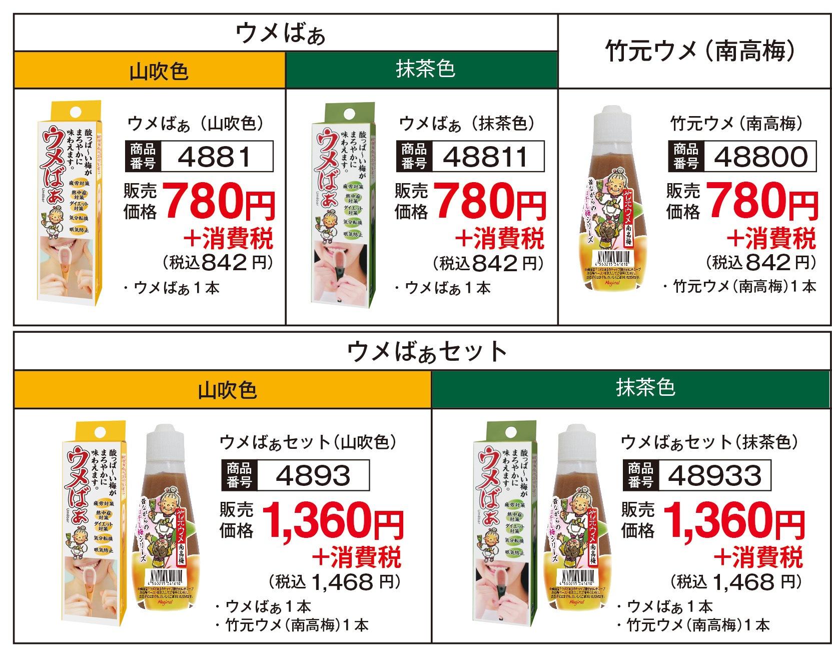 商品イメージ価格